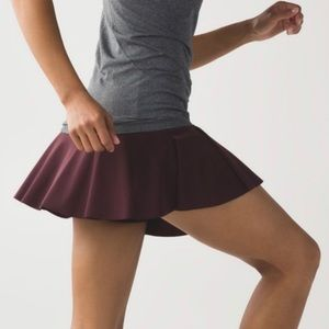 Lululemon Hit your stride skirt